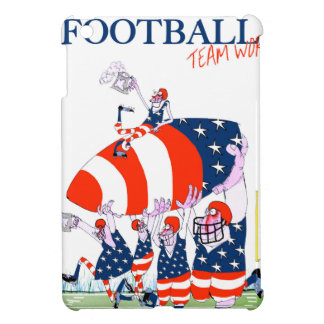 Football team work, tony fernandes iPad mini cases