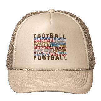 FOOTBALL TERMS CAP