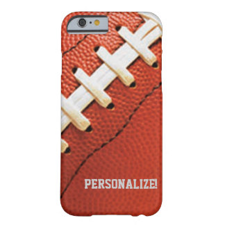 Football Texture Personalized iPhone 6 case Barely There iPhone 6 Case
