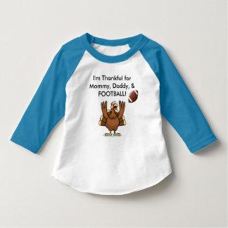 Football Thanksgiving shirt for kids!