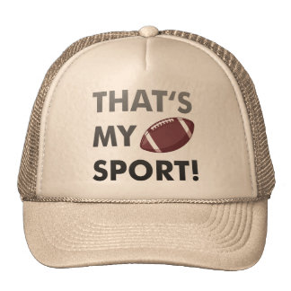 Football - thats s my sport american football baseballkappe