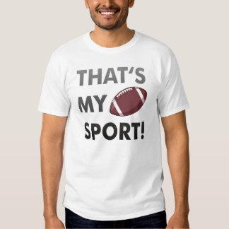 Football - thats's my sport! american football t shirts