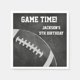 Football Themed Napkins | Paper Party Goods Paper Napkin