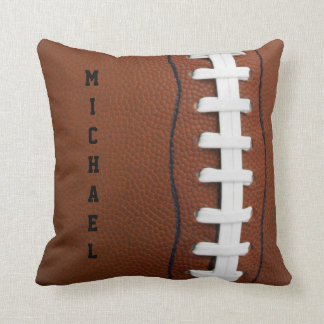 Football Throw Pillow Cushions