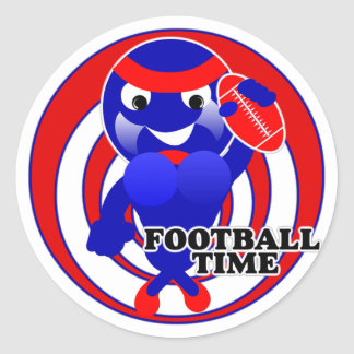 Football Time Stickers