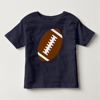 FOOTBALL TODDLER Navy Blue   Front Football Toddler T-Shirt
