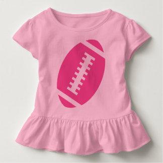 FOOTBALL TODDLER Pink | Front Pink Football T-shirt