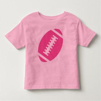 FOOTBALL TODDLER Pink | Front Pink Football Tee Shirt