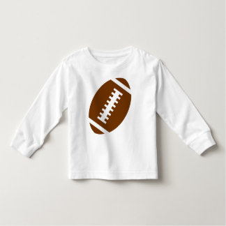 FOOTBALL TODDLER White | Front Football Graphic Tshirts