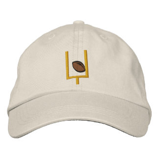 Football Touch Down Embroidered Hat