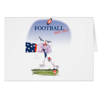 Football touch down, tony fernandes card