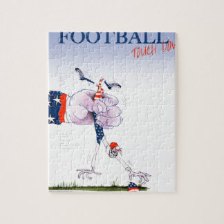 Football touch down, tony fernandes jigsaw puzzle