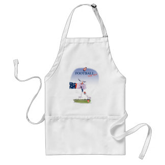 Football touch down, tony fernandes standard apron