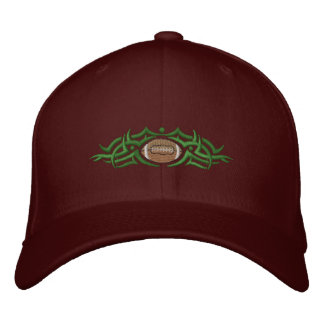 Football Tribal Embroidered Hat