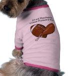 Football & Turkey Doggie Shirt
