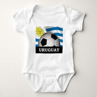 Football Uruguay Baby Bodysuit
