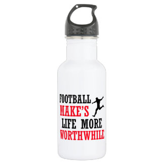 football vector design 532 ml water bottle
