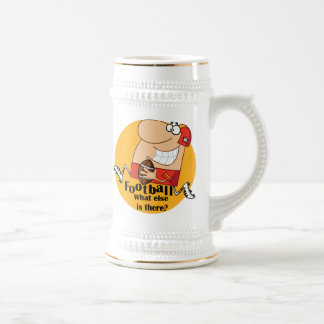 Football What Else T-shirts and Gifts Beer Stein