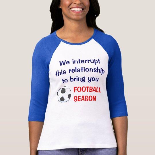 FOOTBALL WIDOW T-Shirt