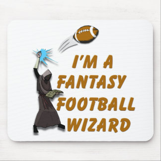 Football Wizard 1 Mouse Pads