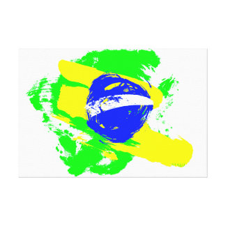 Football world cup - Brazil Canvas Print