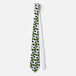 Football World Cup Soccer Ball Pattern Tie