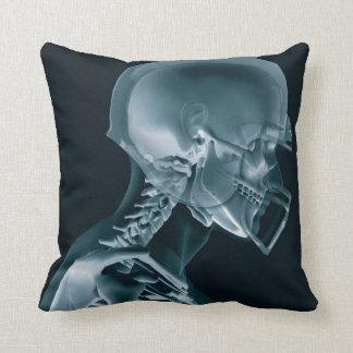 Football Xray Throw Pillow