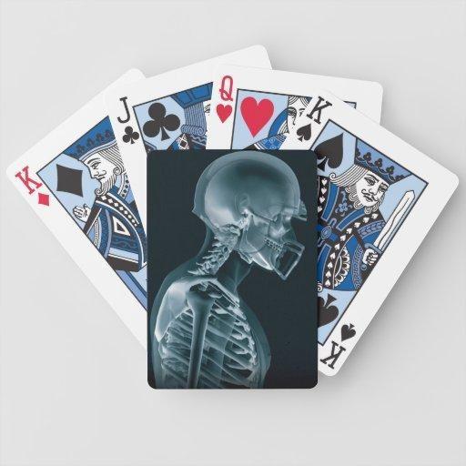 Football Xray Playing cards