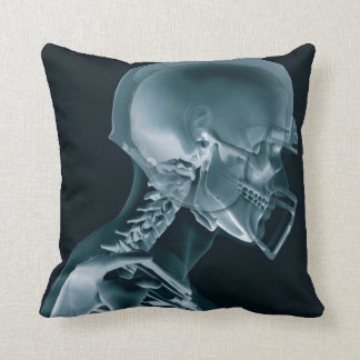 Football Xray Throw Cushion