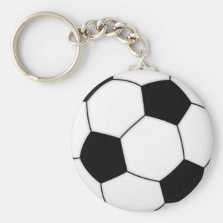 FootballCrazy Basic Round Button Key Ring