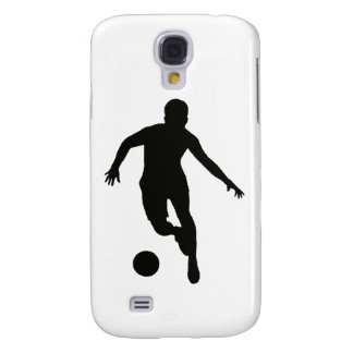 FOOTBALLER (silhouette) Galaxy S4 Case