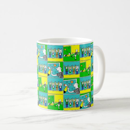 Footballers & Fans Coffee Mug