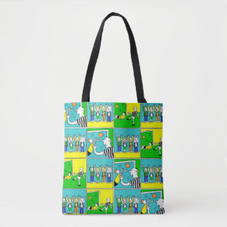 Footballers & Fans Tote Bag