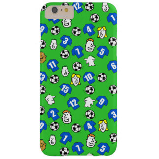 Footballs, Blue Shirts, & Fans Barely There iPhone 6 Plus Case