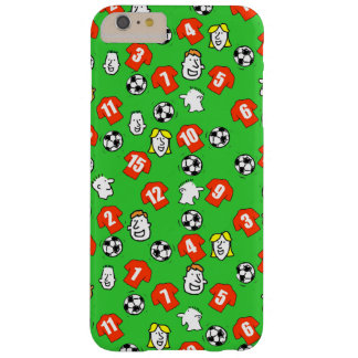 Footballs, Red Shirts, & Fans Barely There iPhone 6 Plus Case