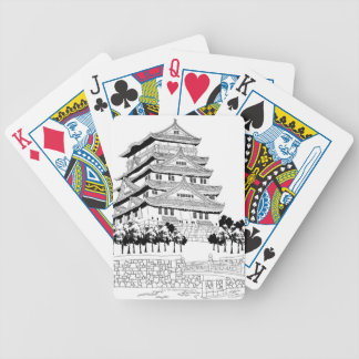 Footbridge Bicycle Playing Cards
