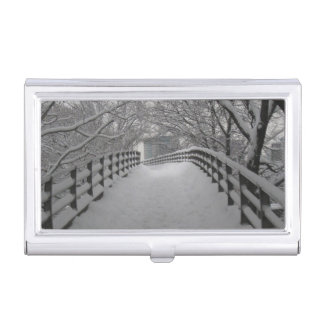Footbridge Business Card Holder