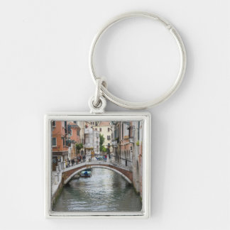 Footbridge in Venice Key Ring