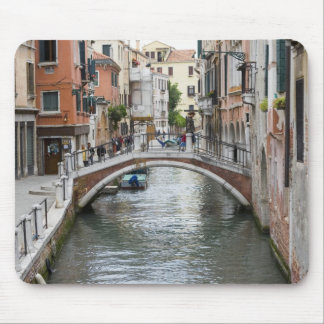 Footbridge in Venice Mouse Mat
