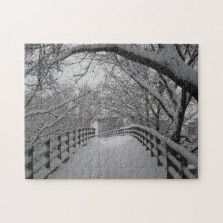 Footbridge Jigsaw Puzzle