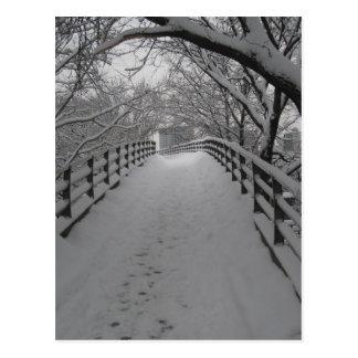 Footbridge Postcard