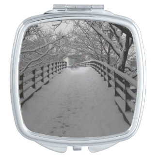 Footbridge Travel Mirror