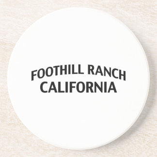 Foothill Ranch California Drink Coaster