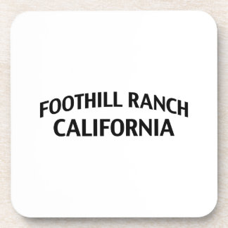 Foothill Ranch California Drink Coasters