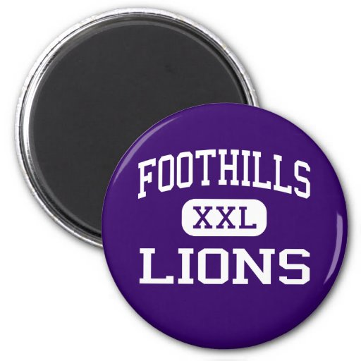 Foothills - Lions - High - Mount Airy Magnets