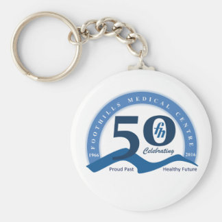 Foothills Turns Fifty Logo Key Chain - Color