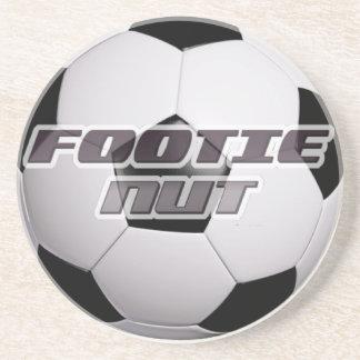 Footie Football Nut Coaster