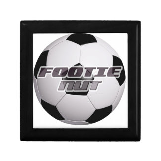 Footie Football Nut Gift Box