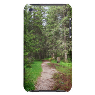 footpath on forest iPod Case-Mate cases