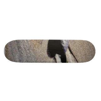 Footprint At Ocean Beach Skateboard Deck